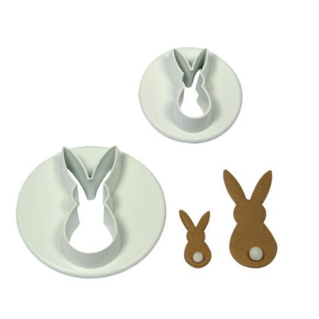 PME Set of 2 Rabbit Cutters