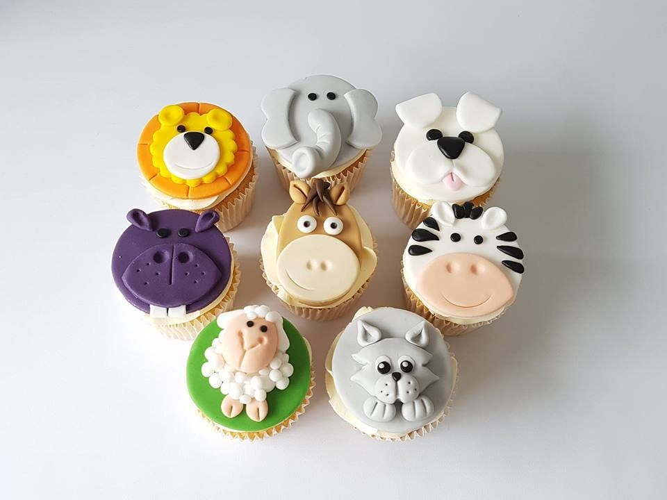 The Little Cottage Cakery Animal Cupcake Class - Tues 9th Oct 6-9pm