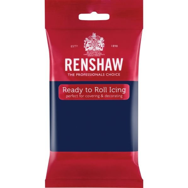 Renshaw 250g Navy Ready to Roll Fondant Icing