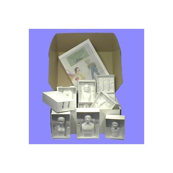 PME People Moulds Set 4