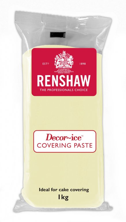 Renshaw 1kg Ivory Covering Paste